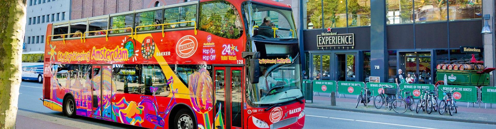 Amsterdam Bus hop on hop off