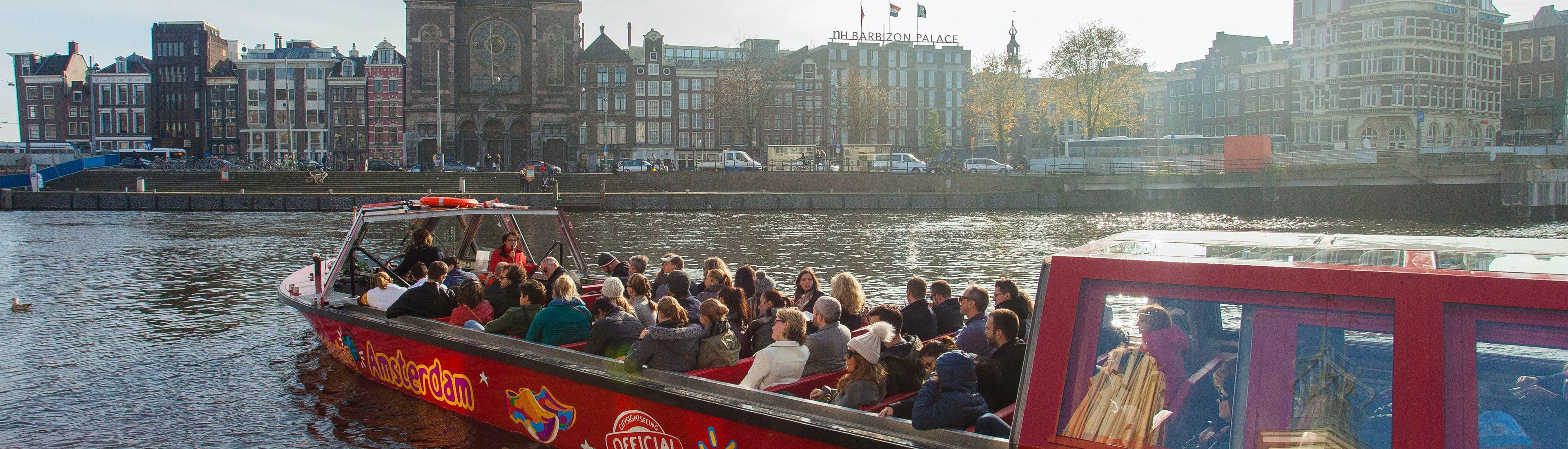 Autobús y crucero turístico de Ámsterdam Hop on Hop off