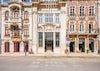 Fachadas históricas en Aveiro