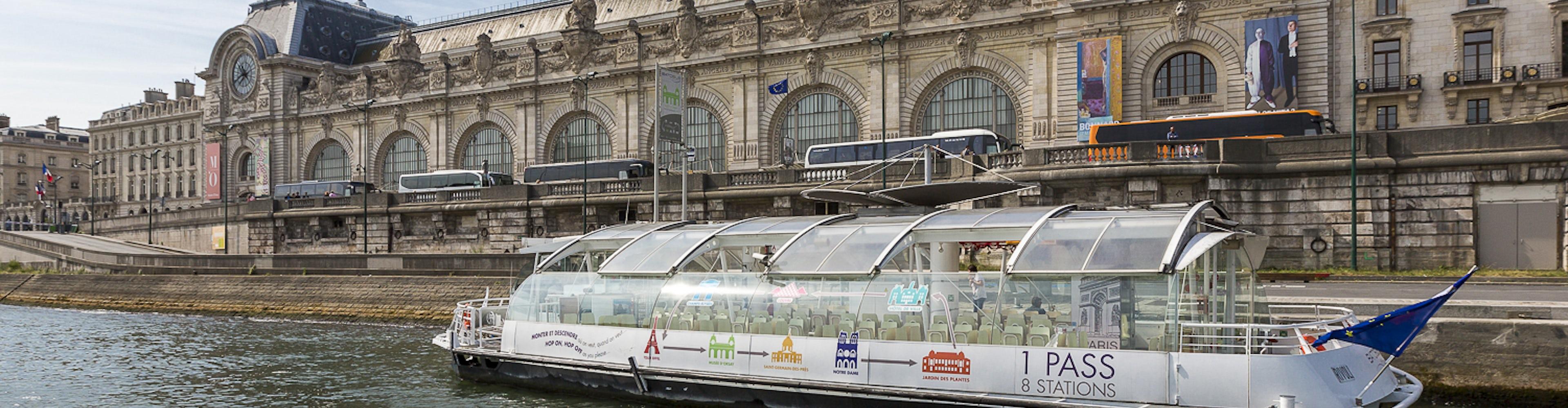 Batobus Paris - Paseo en Barco por el Río Sena con Paradas Ilimitadas