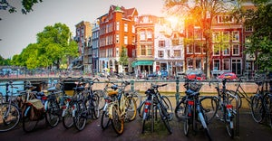 canales amsterdam bici