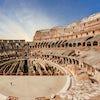 coliseo roma interior