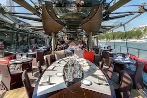 crucero con comida en paris