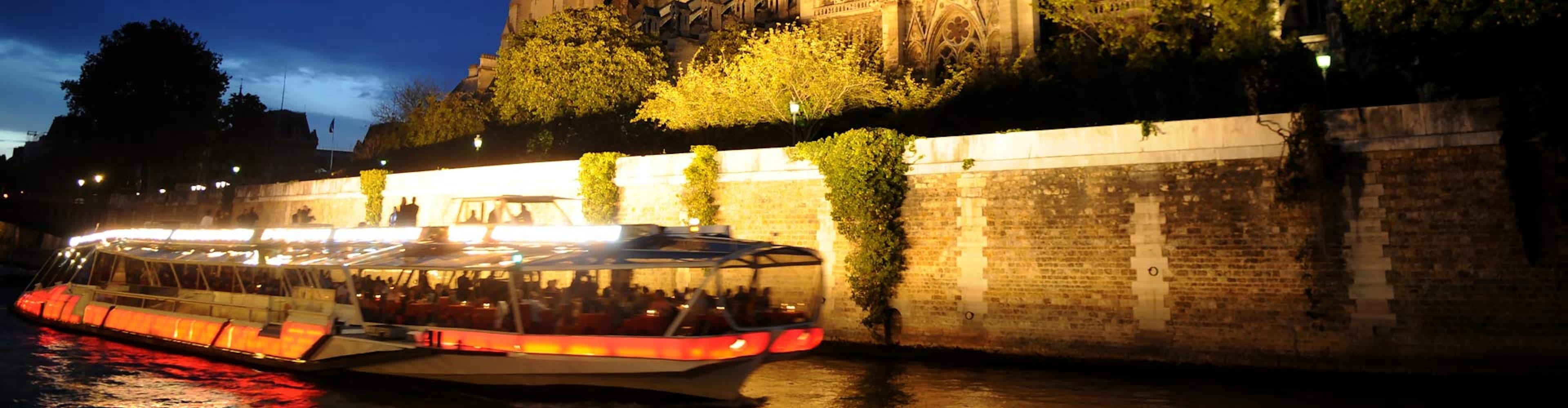 Paseo por el Sena en barco (1 hora)