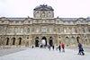 Louvre con Personas
