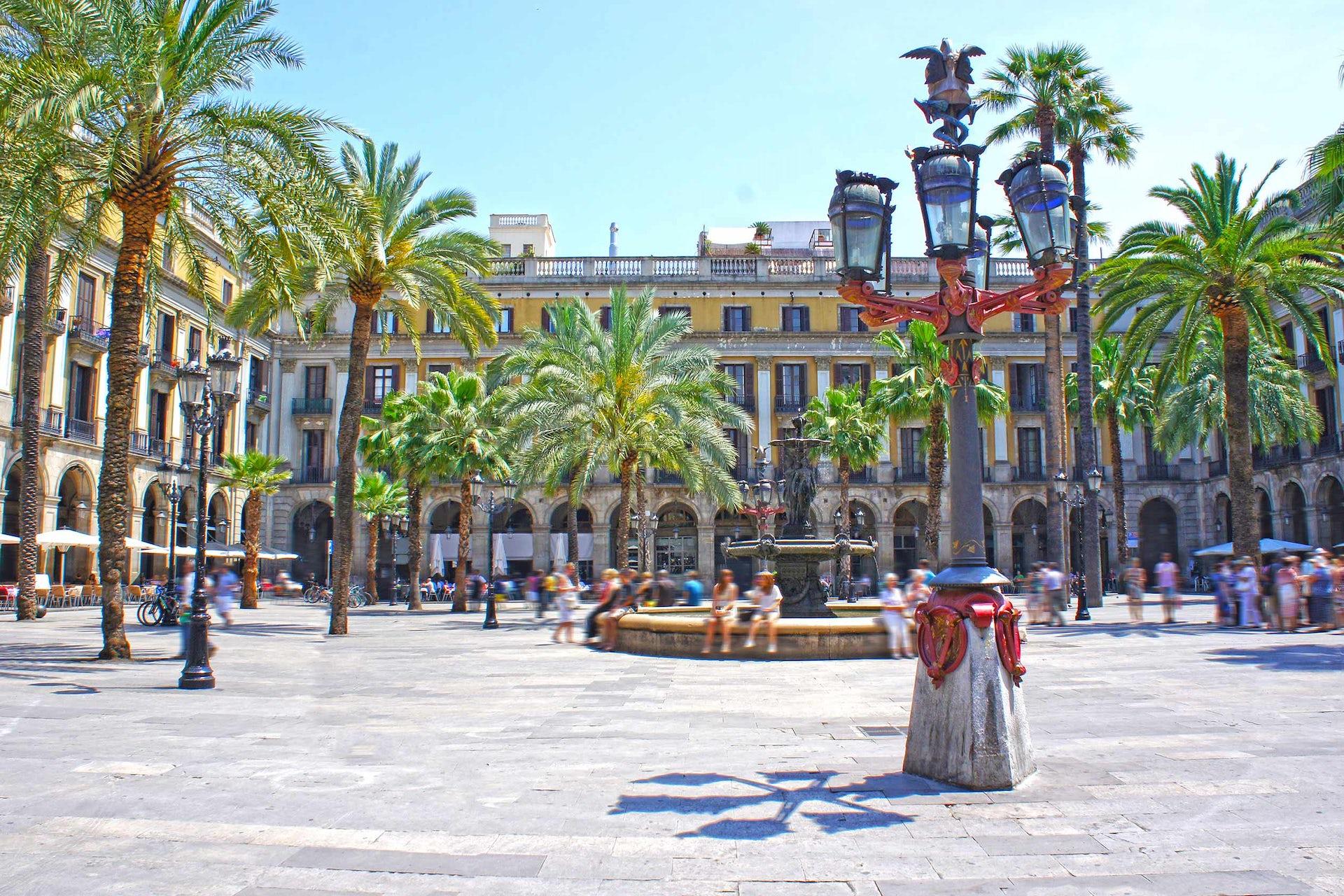 plaza gotico barcelona