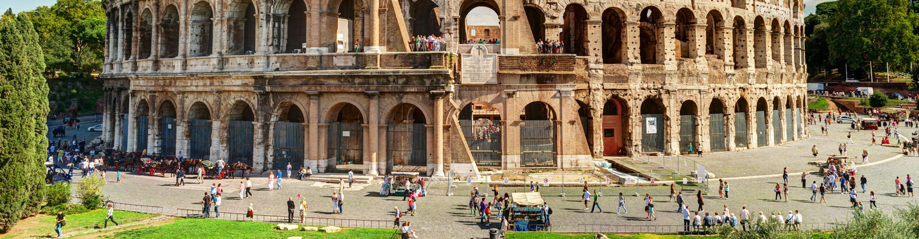 Visita guiada al Coliseo, Foro y Palatino