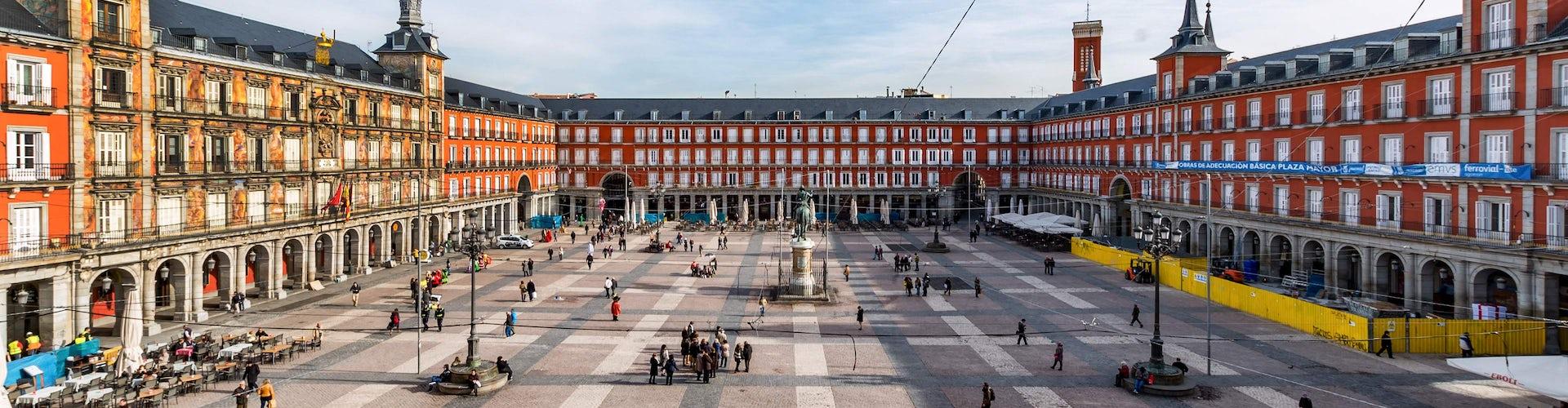 visita guiada madrid plaza real