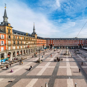 visita guiada madrid plaza real