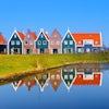Pintorescas casas en Volendam