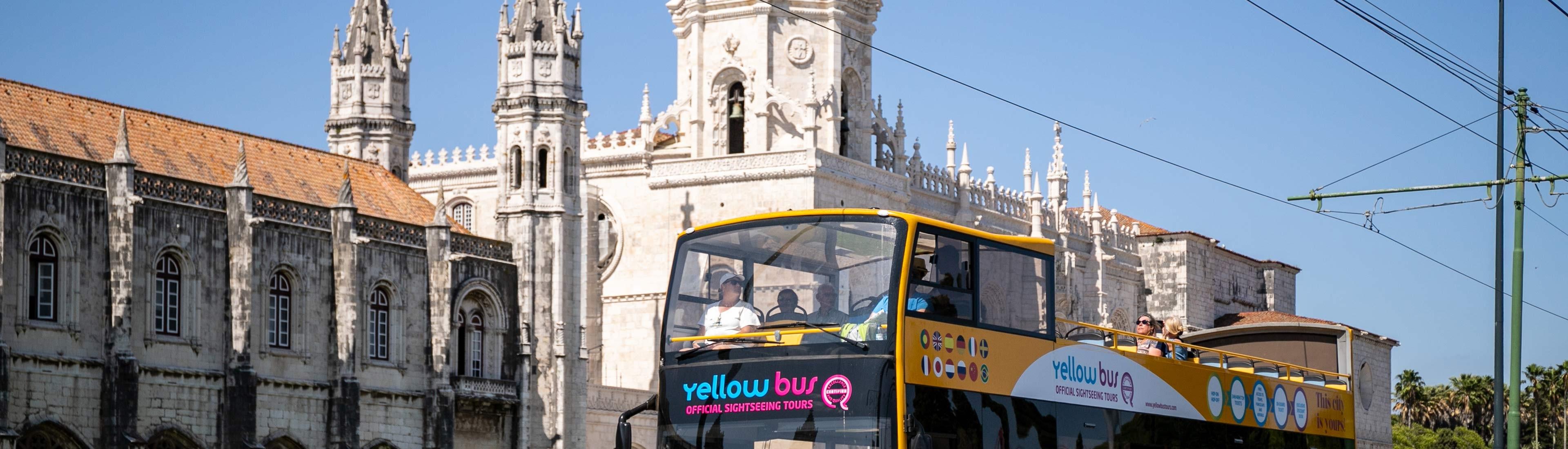 """Autobús Turístico de Lisboa - """"Modern Lisbon y Belém Bus Tour"""""""